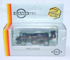 Gama Mini 1:43 OPEL LOTUS General Motors FORMULE 3 RACING CAR Model Car MIB RARE