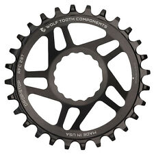 Wolf Tooth DropStop Race Face Cinch Direct Mount DM Chainring 1x - 32T - Black