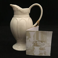 Beautiful I. GODINGER & CO  Embossed Mini Pitcher ~ Cream Color