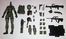 Marauder Task Force Valkyries Green FIELD Ops Figure w/ accessories 1/18 NEW!
