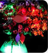 Hanging Led Floral Lights / FloraLytes for Tower Vases 10 Pieces - Teal