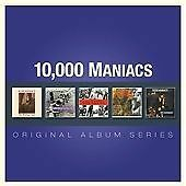 10,000 MANIACS, ORIGINAL ALBUM SERIES, SEALED 64 TRACK 5 x CD ALBUM FROM 2013