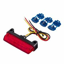 Warrior 12v Universal Rear 6 Row LED ACU Rain/Safety Light | Brake/Rear Light
