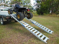 3 Metre Folding Quad Bike Loading Ramps Australian Made structural aluminium
