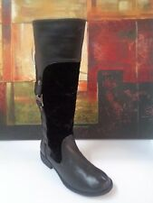 CG Black Man-made Boots Shoes 8/39