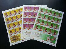Installation His Majesty Agong XII 2002 Malaysia King Royal (sheetlet) MNH *Rare