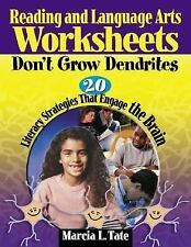 Reading and Language Arts Worksheets Don't Grow Dendrites: 20 Literacy Strategie