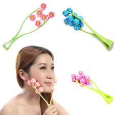 Flower Round Face-lift Roller Massager Anti Cellulite Losing Weight Facial Care