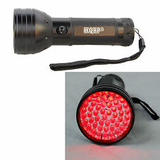 51 LEDs Red Light Flashlight for Turtle Hatching, Night-Time Astronomy, Aviation