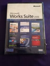 MICROSOFT WORD 2002 DIGITAL IMAGE 2006 & MORE IN WORKS SUITE 2006 NEW & SEALED