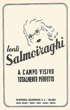 Y2209 Lenti Salmoiraghi - La Filotecnica - Pubblicità del 1942 - Old advertising