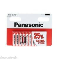 """10 AAA Panasonic """"Special"""" Zinc Carbon AAA (R03, S) Size - Box of 10 Batteries"""