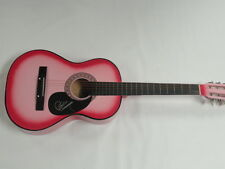 JANA KRAMER SIGNED HOT PINK ACOUSTIC GUITAR WHY YA WANNA PROOF AUTOGRAPHED