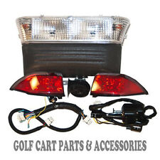 Club Car Precedent Golf Cart Deluxe Head Light & Tail Light Kit Electric 2008-UP