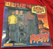 Freddy MAXX FX Now Showing NEW Matchbox 1989 A Nightmare on Elm Street