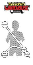 NEW REAR Securon Seat Belt 264 Lap & Diagonal Belt x1