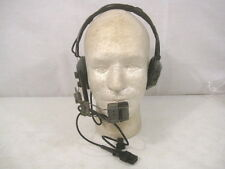 post-WWII US Army Signal Corps H-63/U Headset & CW-292/U Microphone - Dated 1950