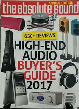 The Absolute Sound Spring 2017 High End Audio Buyer's Guide FREE SHIPPING sb