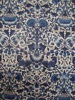 250cm LIBERTY Lodden blue  Tana Lawn cotton fabric