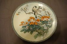 "1988 CHINESE IMPERIAL JINGDEZHEN PORCELAIN BIRD PLATE ""THE GIFT OF PURITY"""