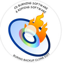 DVD CD BURNING BURNER BACKUP COPY CLONE EDIT SOFTWARE SUITE 1st FREE POST on DVD