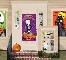 Kid Friendly Scene Setter Halloween Party wall decoration kit 33pc ghost pumpkin