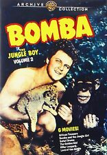 BOMBA THE JUNGLE BOY: 2 - (1949 Johnny Sheffield) Region Free DVD - Sealed