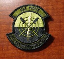 USAF PATCH, 877TH EXPEDITIONARY AIR SUPPORT OPERATIONS SQDRN. MULTICAM,W/VELCRO