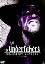 WWE: The Undertaker's Deadliest Matches (DVD, 2014)