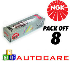 NGK Laser Iridium Spark Plug set - 8 Pack - Part Number: ILFR6J-11K No. 4458 8pk