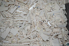 NEW LEGO 100+ WHITE MIX OF PARTS PIECES FROM HUGE BULK LOT RANDOM LEGOS LB