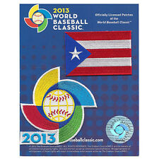 2013 World Baseball Classic Team Puerto Rico Jersey Sleeve Patch Pack Official