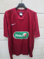 Maillot COUPE de FRANCE porté n°16 NIKE football shirt collection bordeaux PMU L