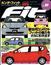 JDM HYPER REV Vol.80 HONDA FIT TUNING CAR BOOK Free Shipping!