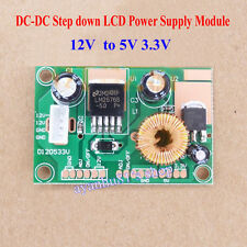 DC-DC Converter 12V to 5V 3.3V Step down LED Buck Power Supply Module LOW ESR