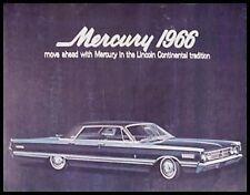 1966 Mercury Prestige Brochure- S-55 Montclair Monterey