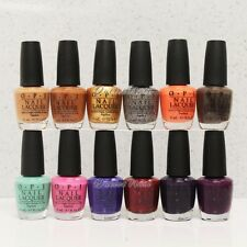 LOT 12 OPI Nail Lacquer NORDIC Collection Fall/Winter Shades 2014 N39   NL50 SET