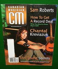 2003 CANADIAN MUSICIAN Magazine: Chantal Kreviazuk, How to Get a Record Deal