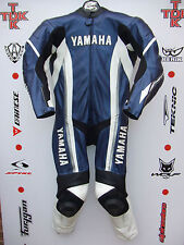 Dainese Yamaha R1-M Speedblock 1 piece race suit with hump uk 42 euro 52