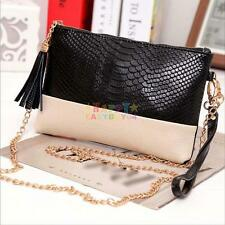 Women Lady Handbag Shoulder Bag Tote Purse Fashion PU Leather Messenger Hobo Bag
