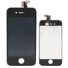 Black GSM Frame + Touch LCD Screen Digitizer Assembly for Apple iPhone 4 A1332