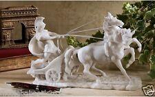 ROMAN CHARIOT GLADIATOR SCULPTURE 17TH CENTURY VATICAN MUSEUM REPLICA