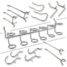 Pegboard Hooks | 50pc Assorted Wall Storage Shelf Tool Organizer Display Hanger