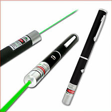 1mW POWERFUL GREEN LASER LAZER POINTER PEN HIGH POWER PROFESSIONAL 532nm