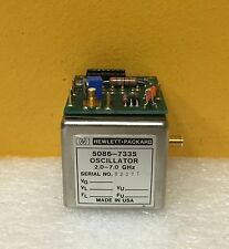 HP 5086-7335 (83590-60067) 2 to 7 GHz YIG Oscillator Assy + 5061-1069 Bias Board
