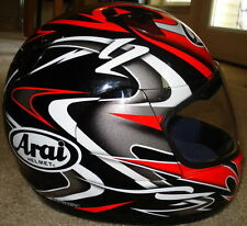 Arai Quantum2 Twisted Red Black motorcycle helmet Ducati colors New XS M L XL