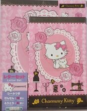Letter Set Charmmy Kitty Rose with Sticker Paper Stationery Sanrio Japan