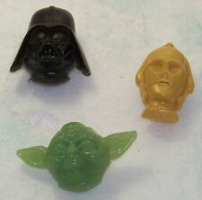 Star Wars Vintage ROTJ Lot of (3) Night Lights (C-3PO, Vader, Yoda)
