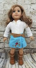 American Girl Doll Nicki Girl of the Year With Cowgirl Outfit 2007 Retired