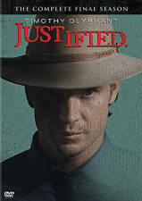 Justified: The Final Season 6 (DVD) New, Free Shipping!